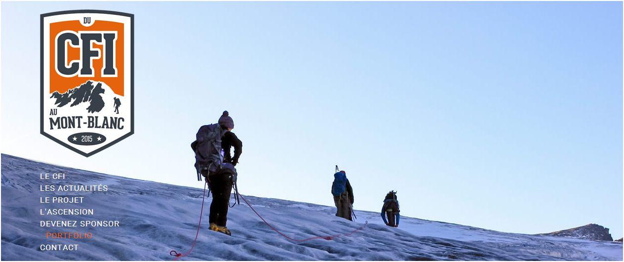 """image du site """"du cfi au mont blanc"""""""