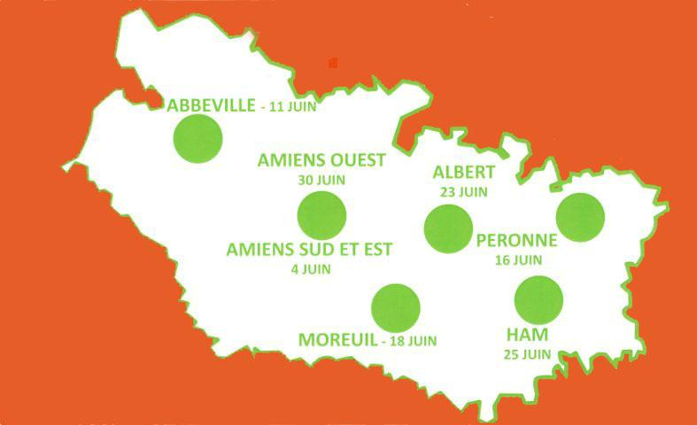 Carte du mois de l'alternance en Somme