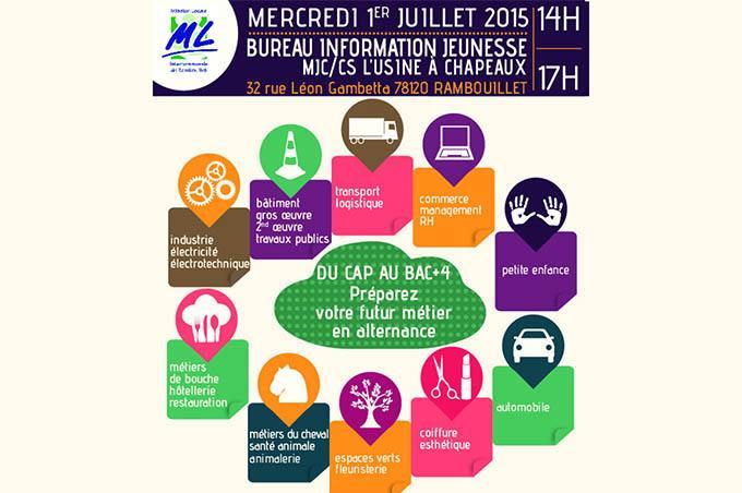 Forum de l'apprentissage à Rambouillet
