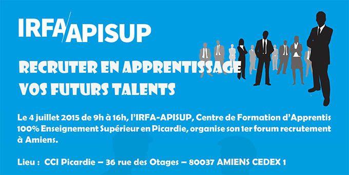 Forum de recrutement apprentissage IRFA-APISUP