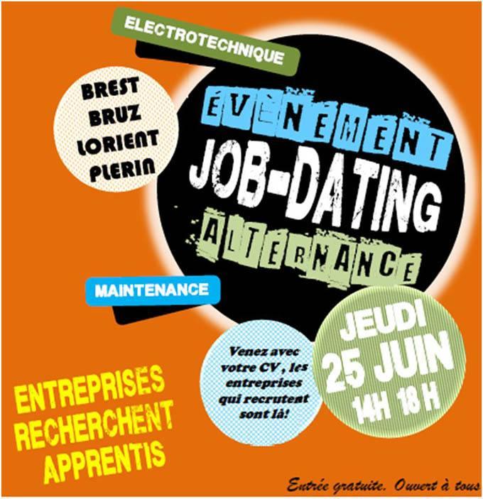 Job dating alternance - Bretagne jeudi 25 juin