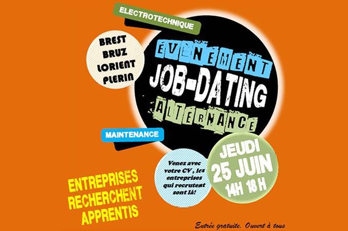 Job dating Bretagne jeudi 25 juin
