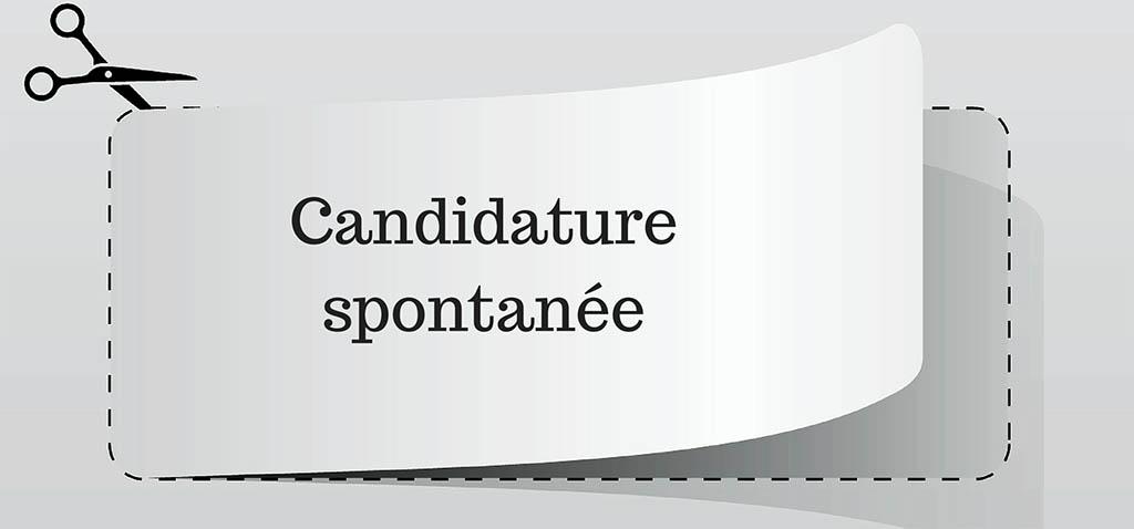 Lettre de motivation candidature spontanée