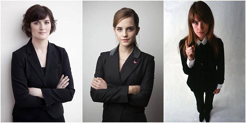 Des femmes habillées pour un entretien d'embauche