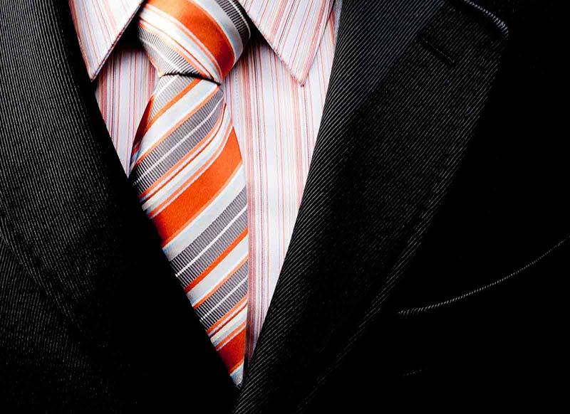 Zoom sur une cravate