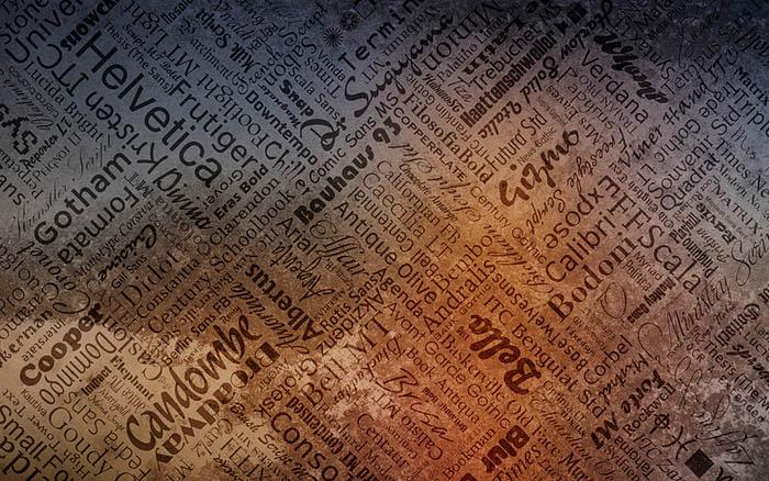 Typographie lettre de motivation