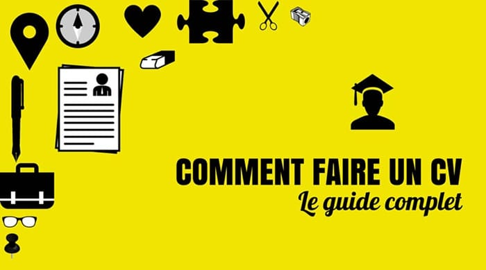 Comment faire un cv - Couverture article