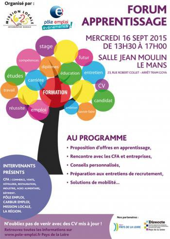 Forum Apprentissage - 16 Septembre 2015