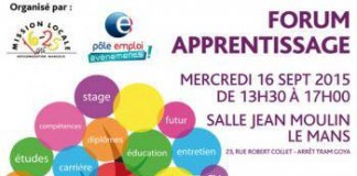 Forum apprentissage - Le Mans mercredi 16 septembre 2016