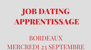 Job dating spécial apprentissage le 23 septembre 2015 à Bordeaux