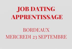 Job dating spécial apprentissage le 23 septembre 2015 à Bordeaux