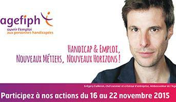 L'Agefiph organise la 19ème semaine pour l'emploi des personnes handicapées