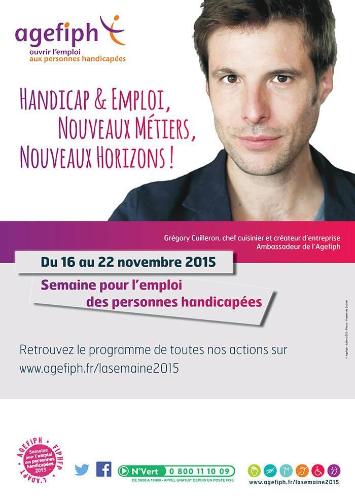 Semaine pour l'emploi des personnes handicapées du 16 au 22 novembre