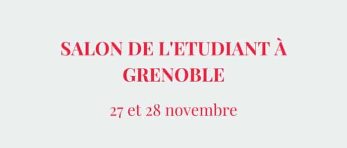 Salon de l'Etudiant du 27 au 28 novembre 2015 à Grenoble