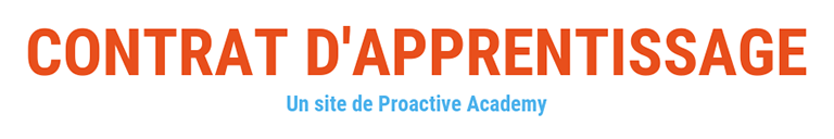 Contrat d'apprentissage Logo