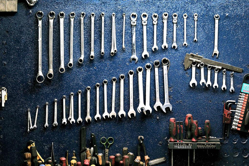 Des outils de mécanicien