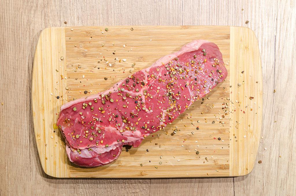 Une pièce de viande